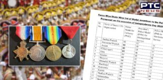 MHA List of Police Medal Awardees   Independence Day 2020