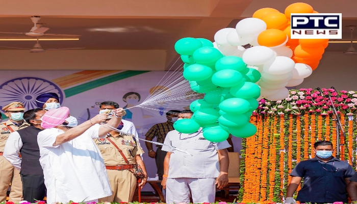 Capt Amarinder Singh salutes Freedom Fighters and Corona warriors on Independence Day