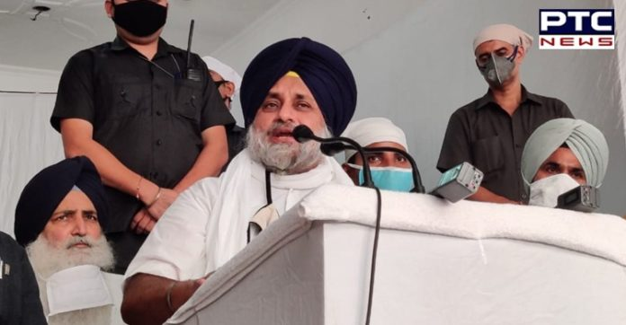 Sukhbir Badal appeals protesting farmers not to stop ambulance during Kisan March