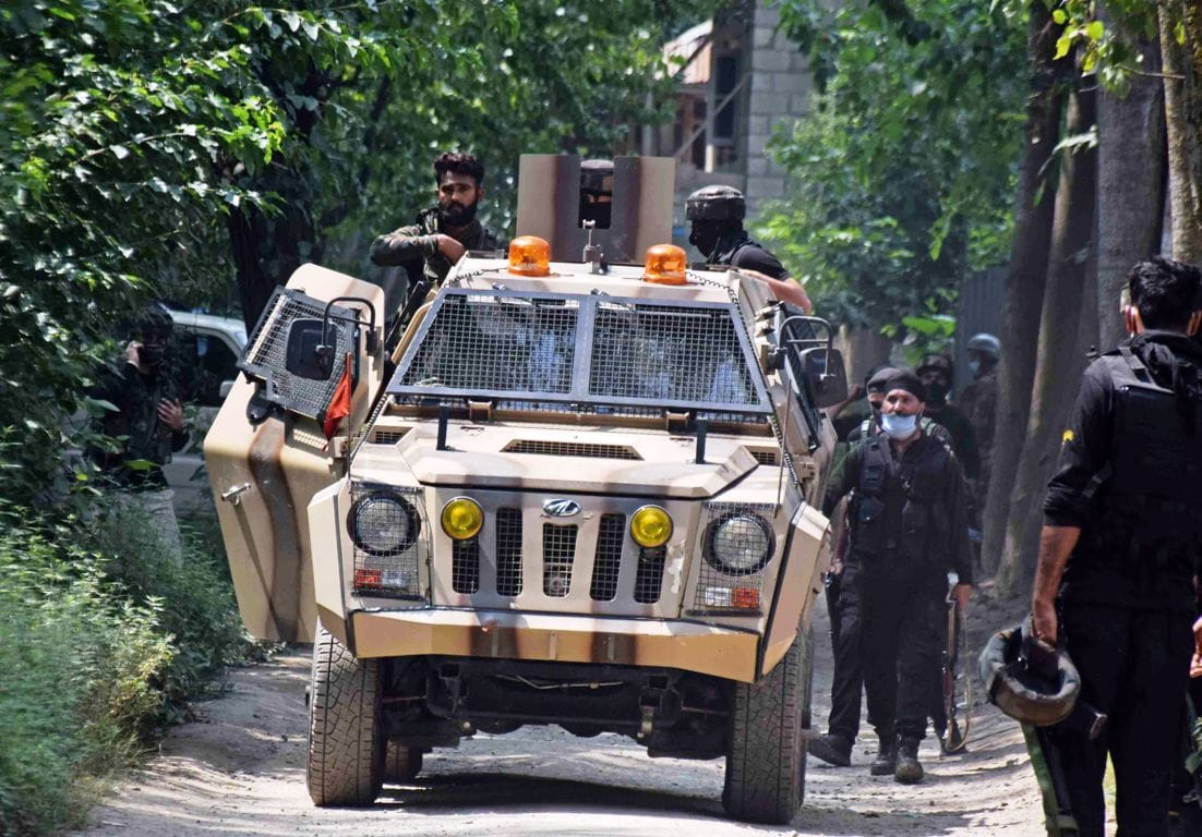 Another Pulwama type major terror attack averted in Jammu Kashmir