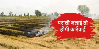 Ban on Stubble Burning in Fatehabad of Haryana
