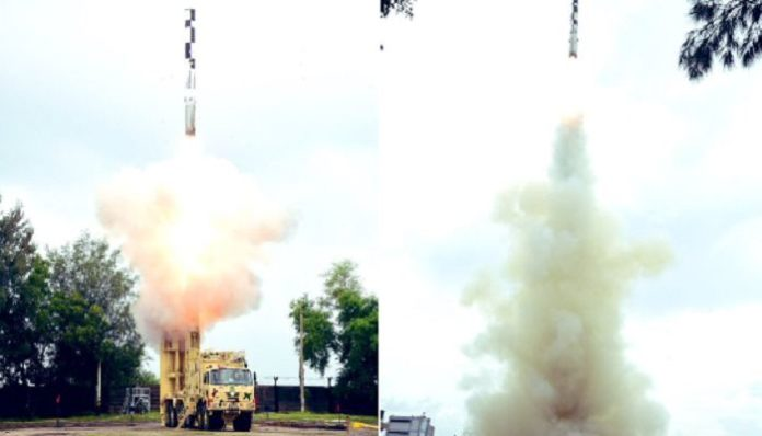 BrahMos Missile Featuring Indigenous Booster Successfully Flight Tested (1)