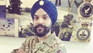 British Sikh soldier Corporal Chamandeep Singh promotion