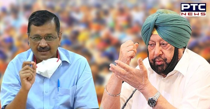 Captain Amarinder asks Kejriwal to keep out of Punjab after latter tells AAP workers to check oxygen of people in villages | PTC NEWS