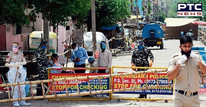 covid 19: Chandigarh List of new containment zones out