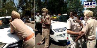"Chandigarh: Traffic comes to a halt as ASI goes ""berserk"""