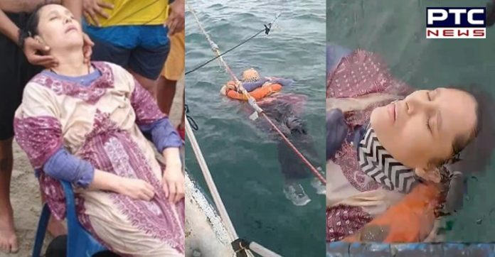 Miracle! Woman missing for two years found floating alive in sea [WATCH]