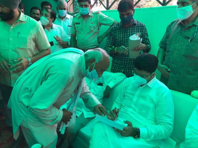 Congress is misleading farmers about three ordinances says Deputy CM (2)