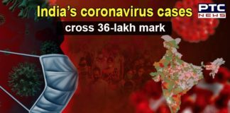 India COVID-19 tally crosses 36-lakh mark with 69,921 new cases