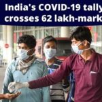 With 80,472 new cases, India's COVID-19 tally crosses 62 lakh-mark