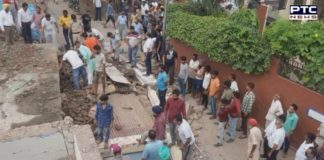 Derabassi Building Collapse: Two dead as building near old Sabzi Mandi collapsed