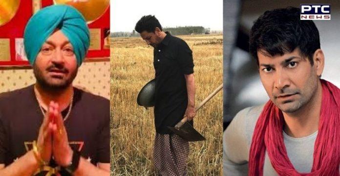 Malkit Singh, Gurdas Mann, Jasbir Jassi sing songs to support farmers' protest