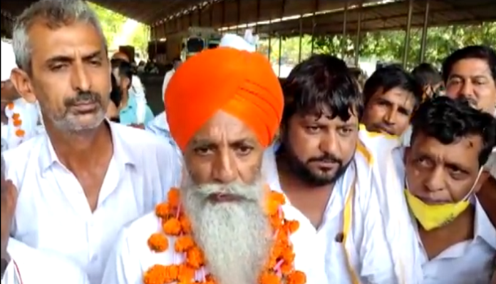 Farmer Leader Gurnam Singh Chadhuni give Road Jam call