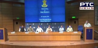 For first time in 6 years, 6 GoI ministers brief media after passing a bill in Rajya Sabha