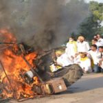 Five people detained in connection burning tractor near India Gate (1)