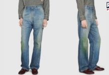 What! Gucci is selling jeans with fake grass stains for Rs 88,000