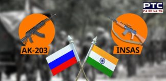 India, Russia finalize AK-47 203 rifles deal