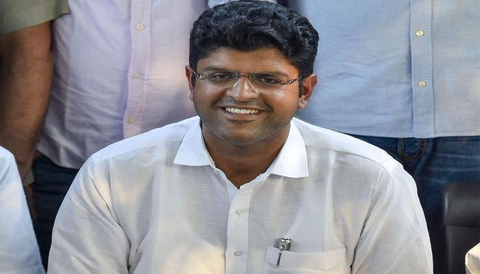 JJP Leader Digvijay Chautala attacks on Congress Party