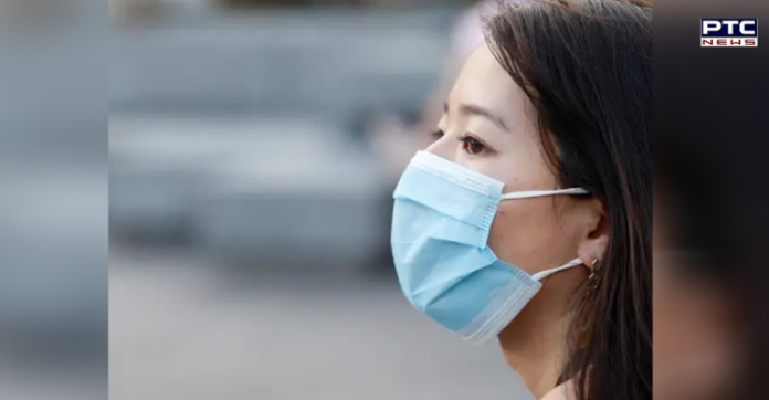 Why are some people getting a frequent sore throat due to the mask?