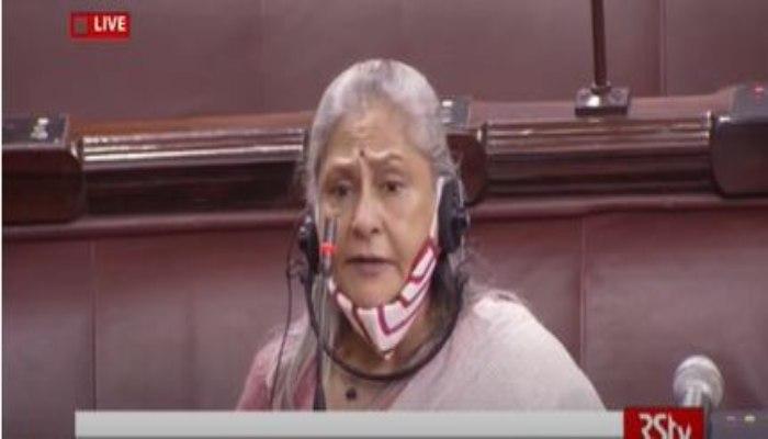 Monsoon Session   Jaya Bachchan spoke on Film industry