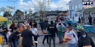 New Zealand Sikh Games Distribute 1500 Free Food Bags in South Auckland