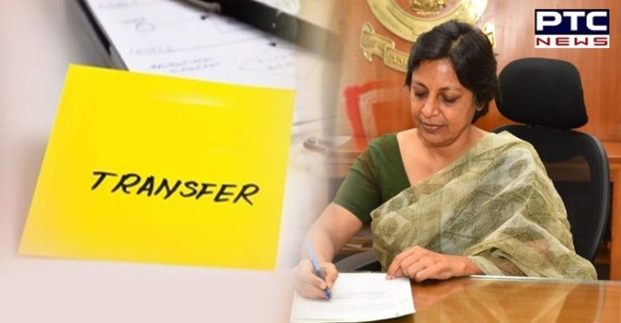 Punjab government orders transfer of 4 IAS officers