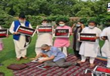 Rajya Sabha Deputy Chairman offers tea to suspended MPs