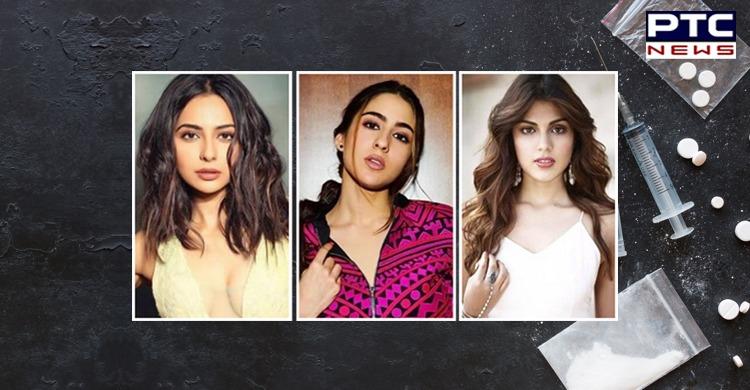 Rhea Chakraborty names Sara Ali Khan, Rakul Preet Singh in drugs case