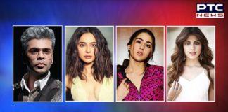 Drug case Rhea Chakraborty name Sara ali khan rakul preet karan johar