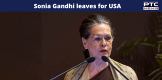 Sonia Gandhi leaves for US for medical check-up