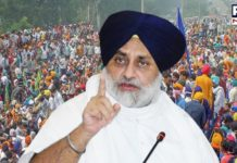 Sukhbir Singh Badal calls political parties for a united fight to save farmers