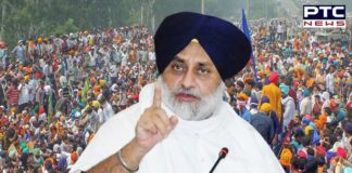 Sukhbir Singh Badal asks CM to release Rs 2,500 per acre to farmers for paddy stubble