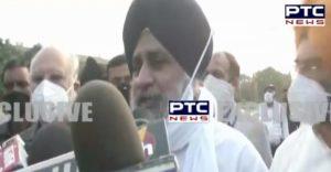 Sukhbir Singh Badal submits memorandum to President on farmers related bills