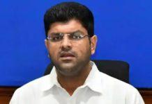 Trending in Twitter Haryana Deputy CM Dushyant Chautala (1)