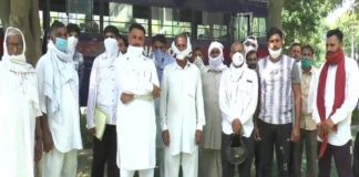 Villagers dissatisfied with the land Marking | Haryana News
