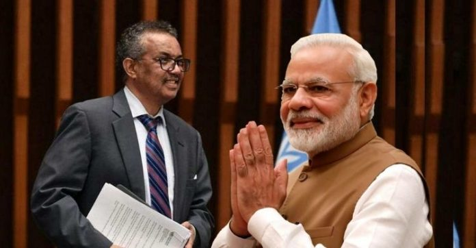 WHO chief hails PM Modi for his commitment to help world fight COVID-19
