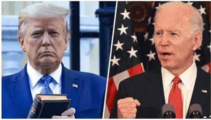 Trump panicked in the face of Covid-19, says Joe Biden