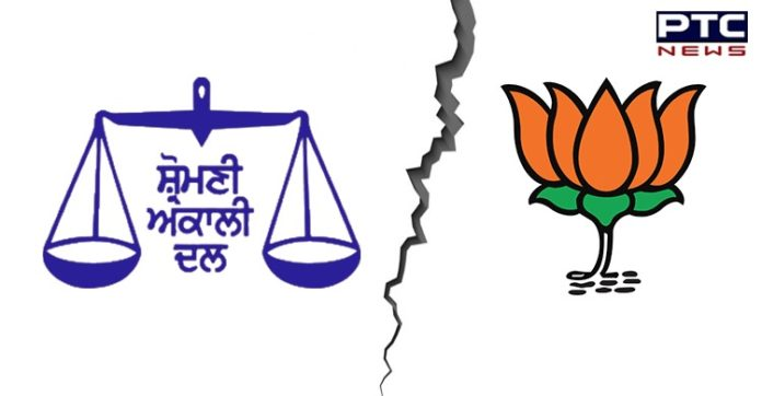 Shiromani Akali Dal core committee pulls out of BJP-led NDA