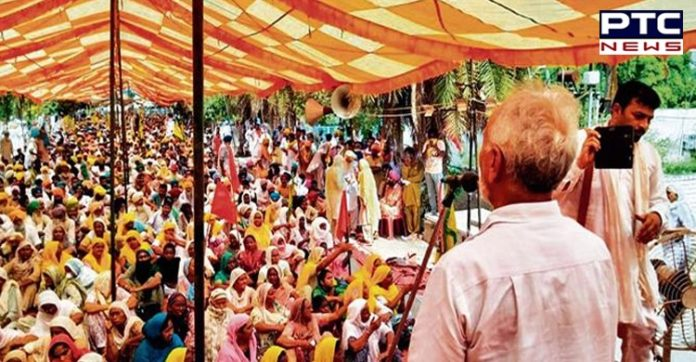Second day of farmers protests at CM's hometown, Badal village