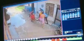 Neighbor brutally assaulted husband and wife   Haryana News