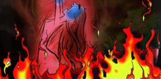 In-laws try to set daughter-in-law on fire