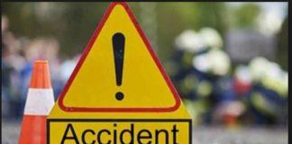 Ajnala-Amritsar road two motorcycles collision ,2 injured