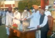 Agriculture laws : Punjab CM handed over to the Governor copy passed bills in the Punjab Vidhan Sabha