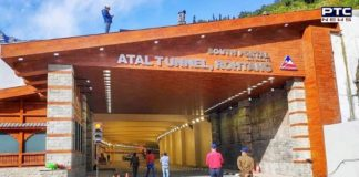 PM Narendra Modi inaugurates 9.02 km long Atal Tunnel connecting Manali to Lahaul-Spiti valley