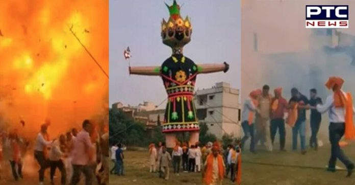 Dussehra 2020: Ravana effigy explodes in Batala, no casualty reported