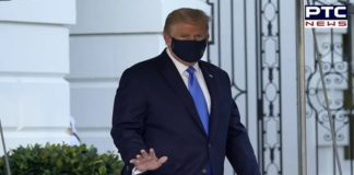 COVID-19 infected Trump briefly leaves hospital to greet supporters