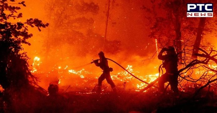California wildfire calls for more than 100,000 people to evacuate