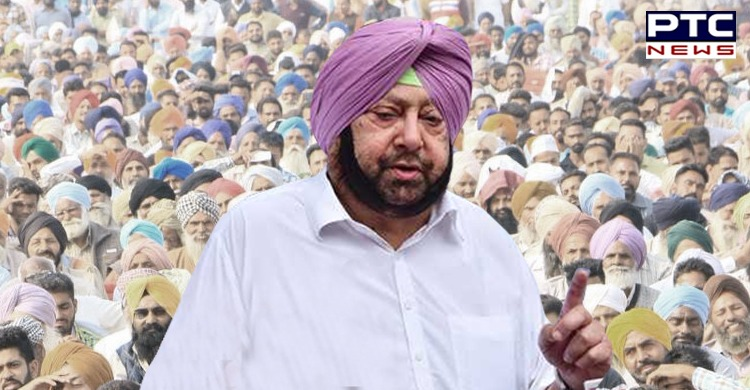 Punjab Power Crisis Amid suspension of goods trains: CM Captain Amarinder Singh announced that he will lead dharna at Delhi's Rajghat.