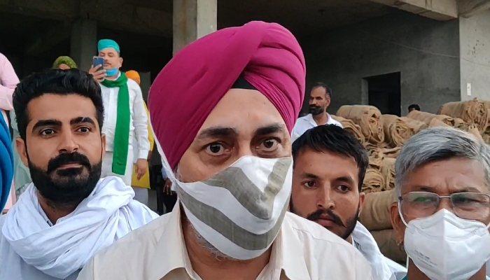 Farmer Chakka Jam on 3 November 2020