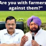Are you with farmers or against them? Captain Amarinder Singh asks Arvind Kejriwal